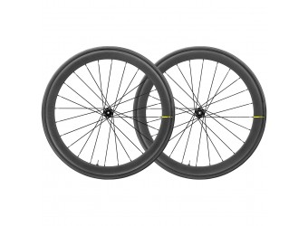 Mavic Cosmic Pro Carbon UST Disc WTS Wheelset with Yksion Pro Clincher